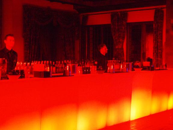 Banconi bar luminosi bar catering roma milano noleggio for Banconi bar milano