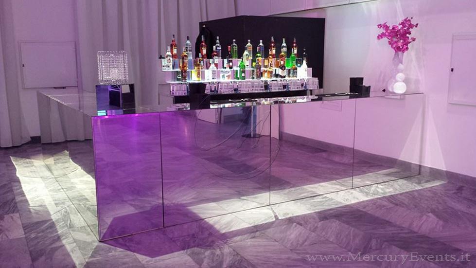 Banconi bar specchiati