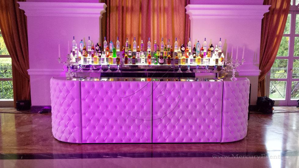 Bancone bar design chesterfield capitone progettazione roma  toscana firenze catering eventi open bar roma villa Miani_014
