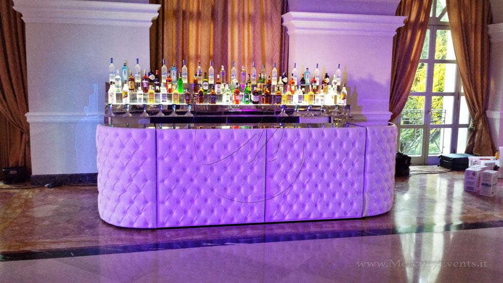 Bancone bar design chesterfield capitone progettazione roma  toscana firenze catering eventi open bar roma villa Miani_015