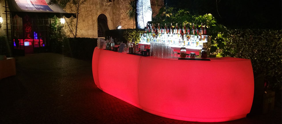 Eventi Open Bar | Bar luminoso| Mercury Events 19