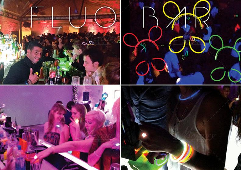 Fluo-Bar-Mercury-events-feste-18-anni PRADA Donna, Evento Open Bar