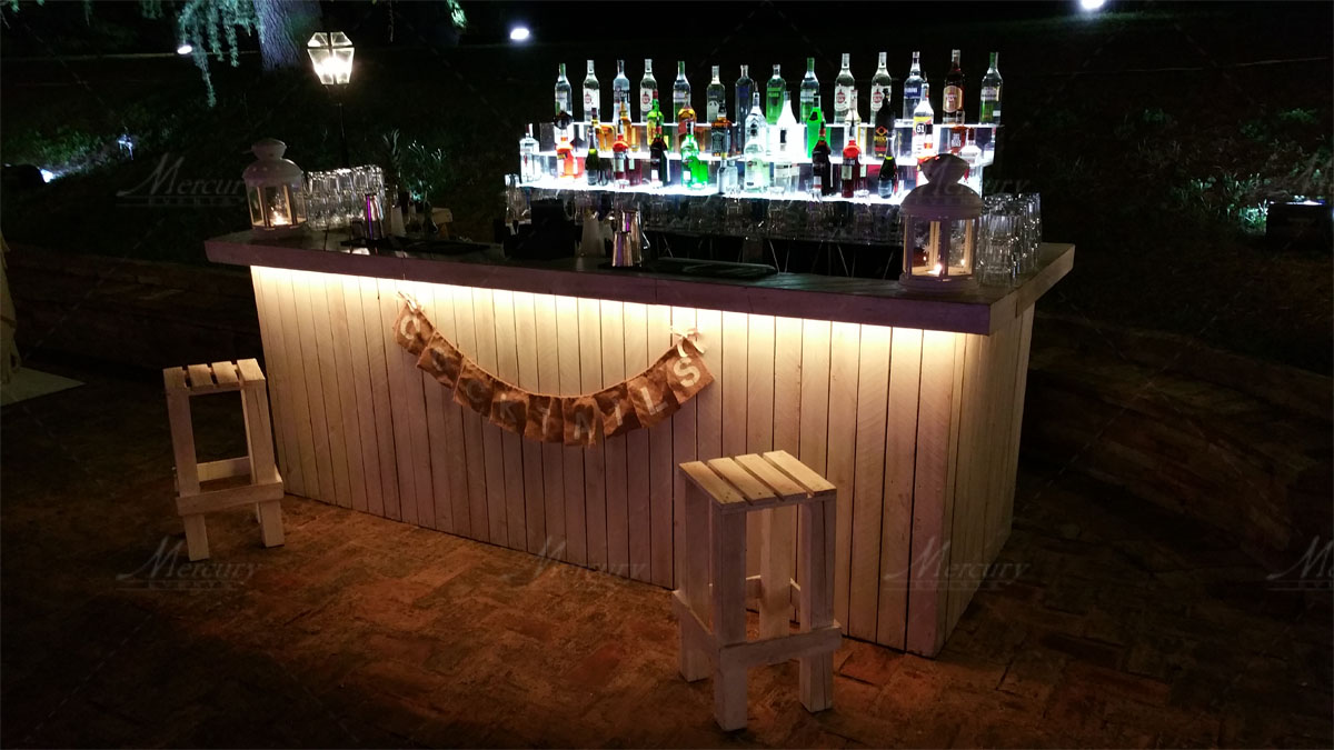 shabby chic bar | mercury events - Arredamento Shabby Per Bar