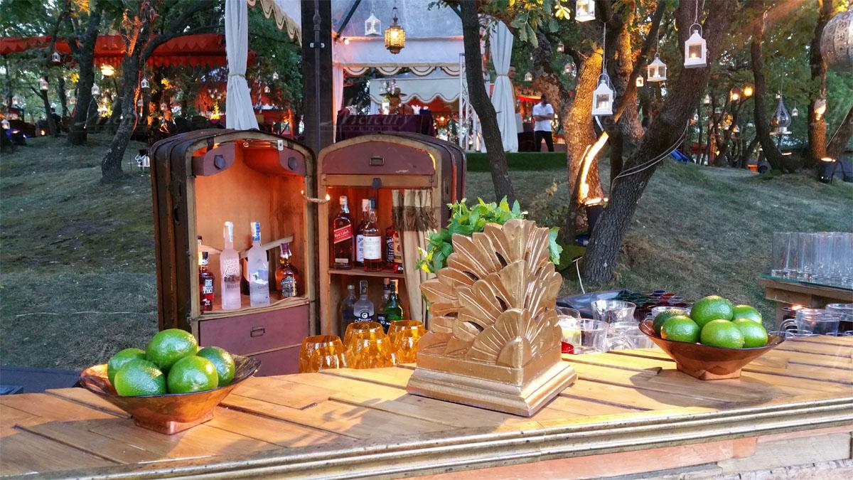 Bancone Bar in Legno Sherwood Bar