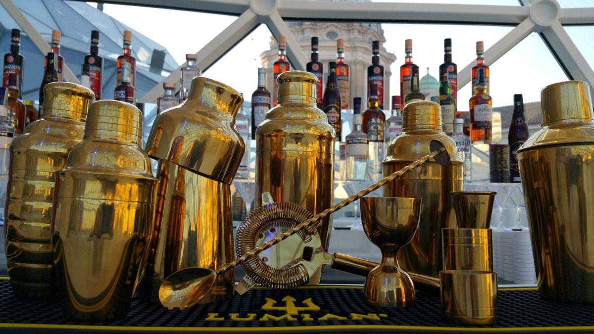 attrezzatura barman