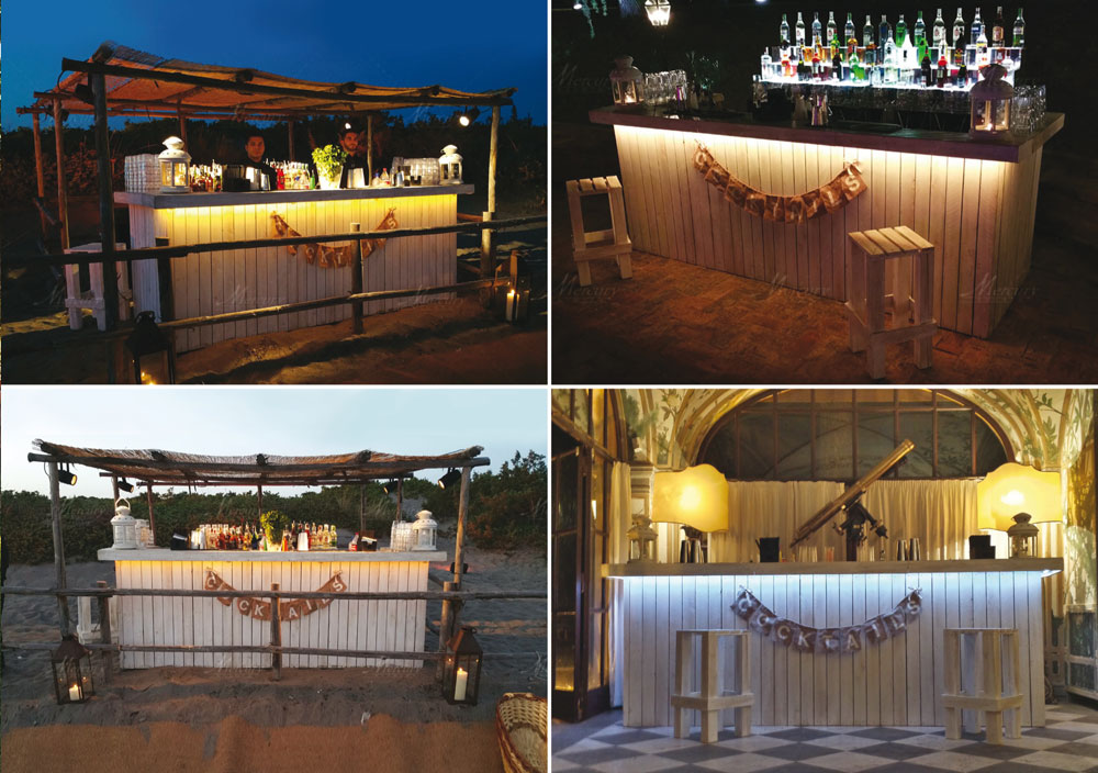 Shabby-Chic-Bar-Mercury-Events-Open-Bar-catering-Roma-Toscana-Firenze PRADA Donna, Evento Open Bar