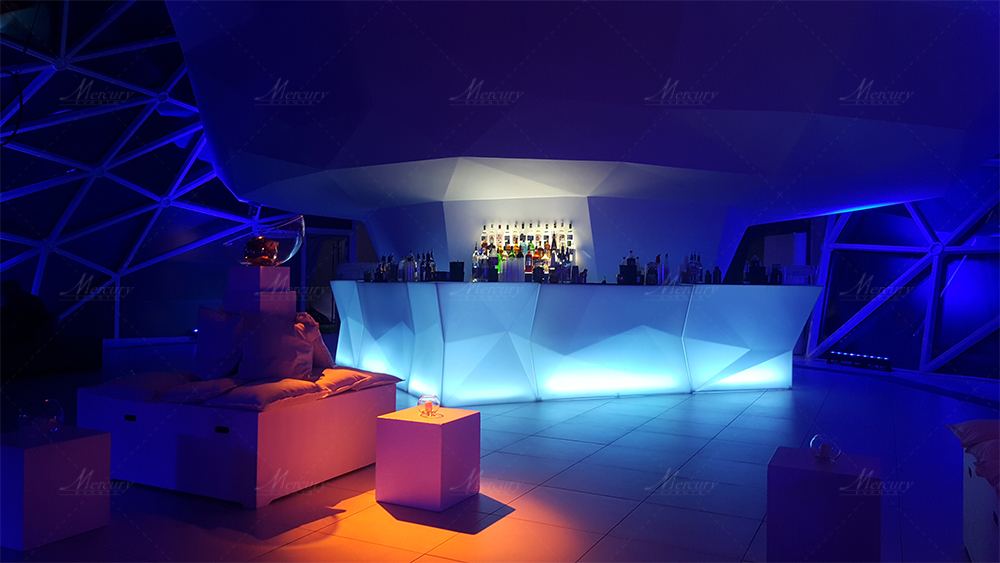 Bancone Bar Luminoso Diamond
