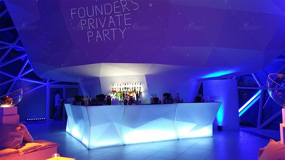 Bar Bancone Luminoso