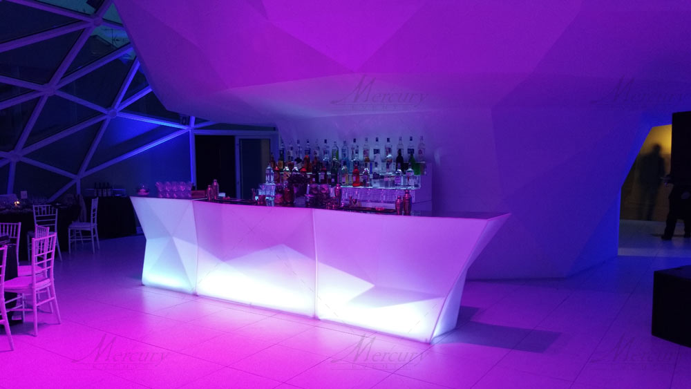 Open Bar - Bancone Bar Luminoso Diamond
