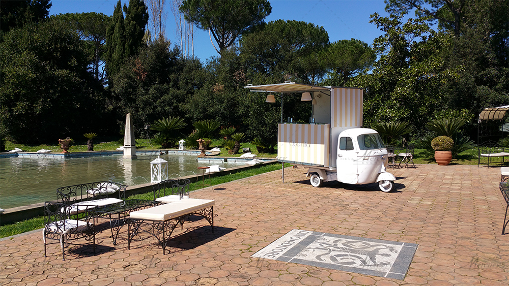open bar roma mercury events villa miani