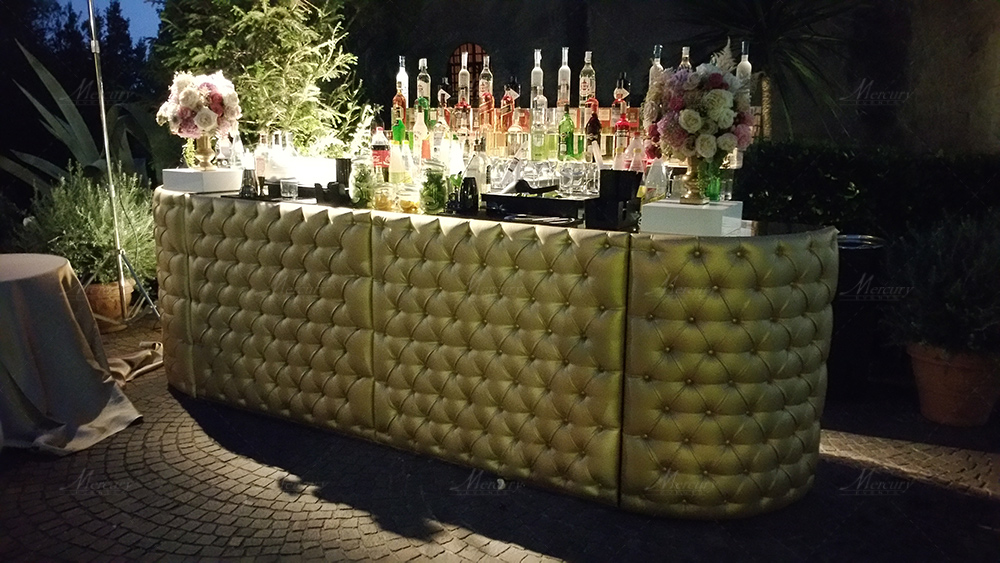 gold chesterfield bar design