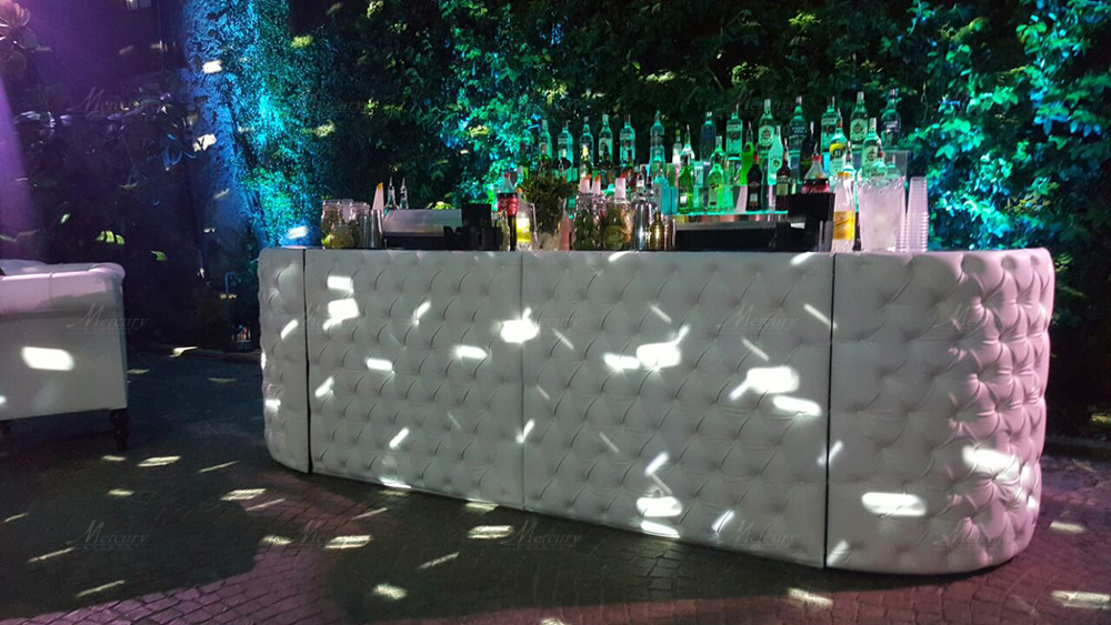 white chesterfield bar design