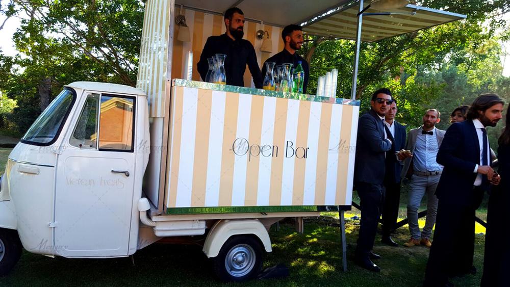 Relais castrum boccea roma mercury events for Ape bar prezzo