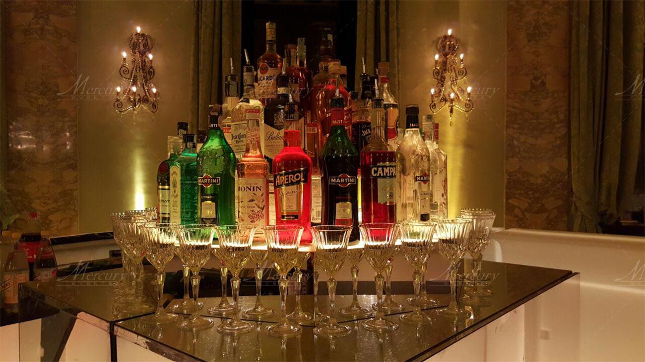 open bar roma
