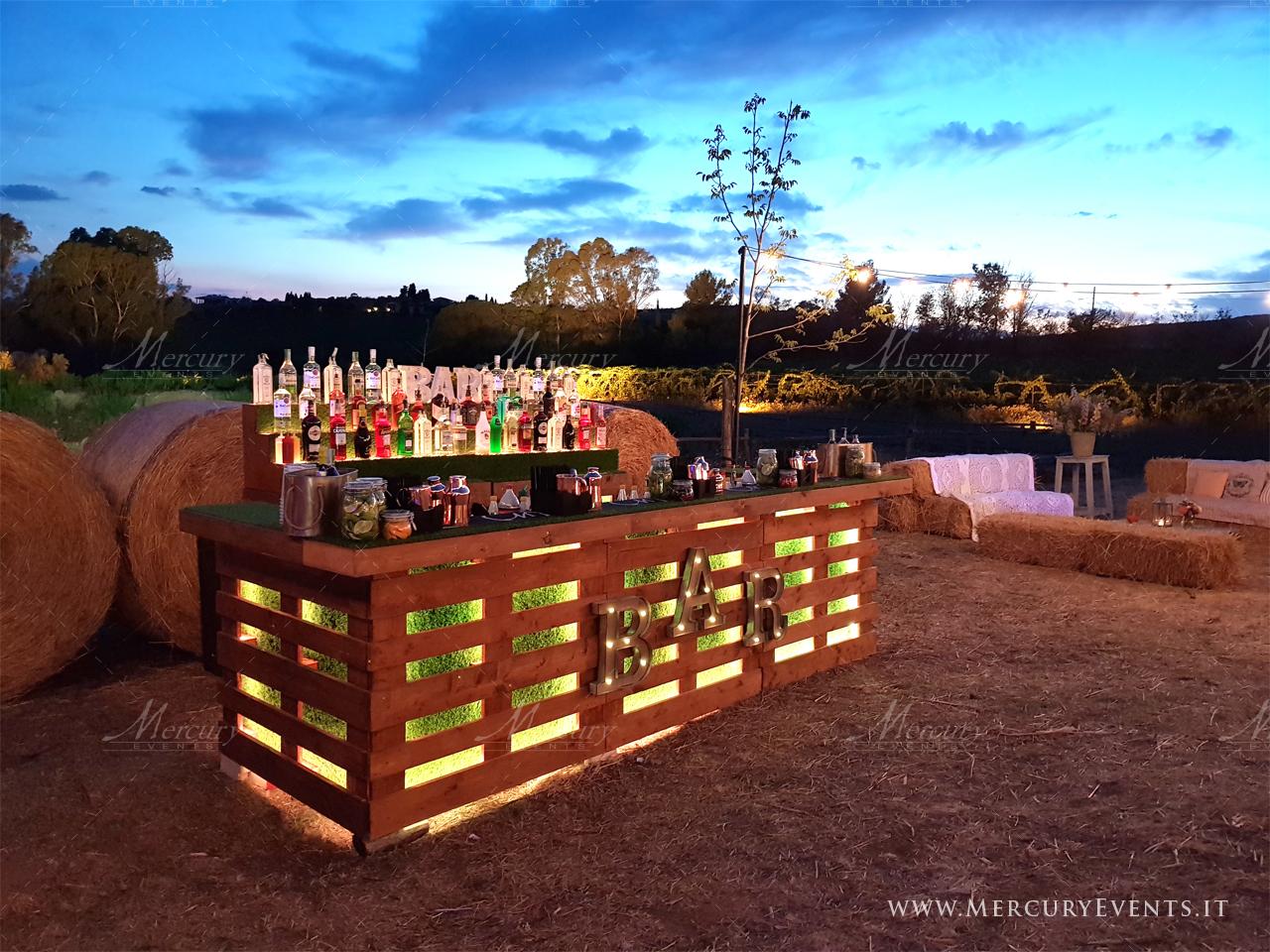bancone_bar_vintage_matrimonio_roma_mercury_events.it_ PRADA Donna, Evento Open Bar