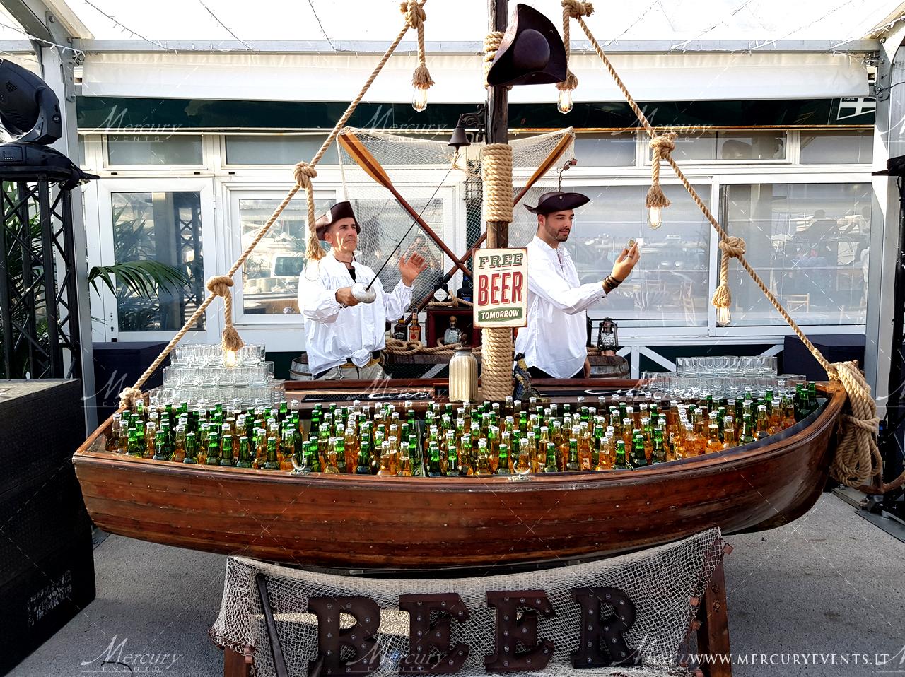 Bancone Bar Boat - Matrimonio Marino