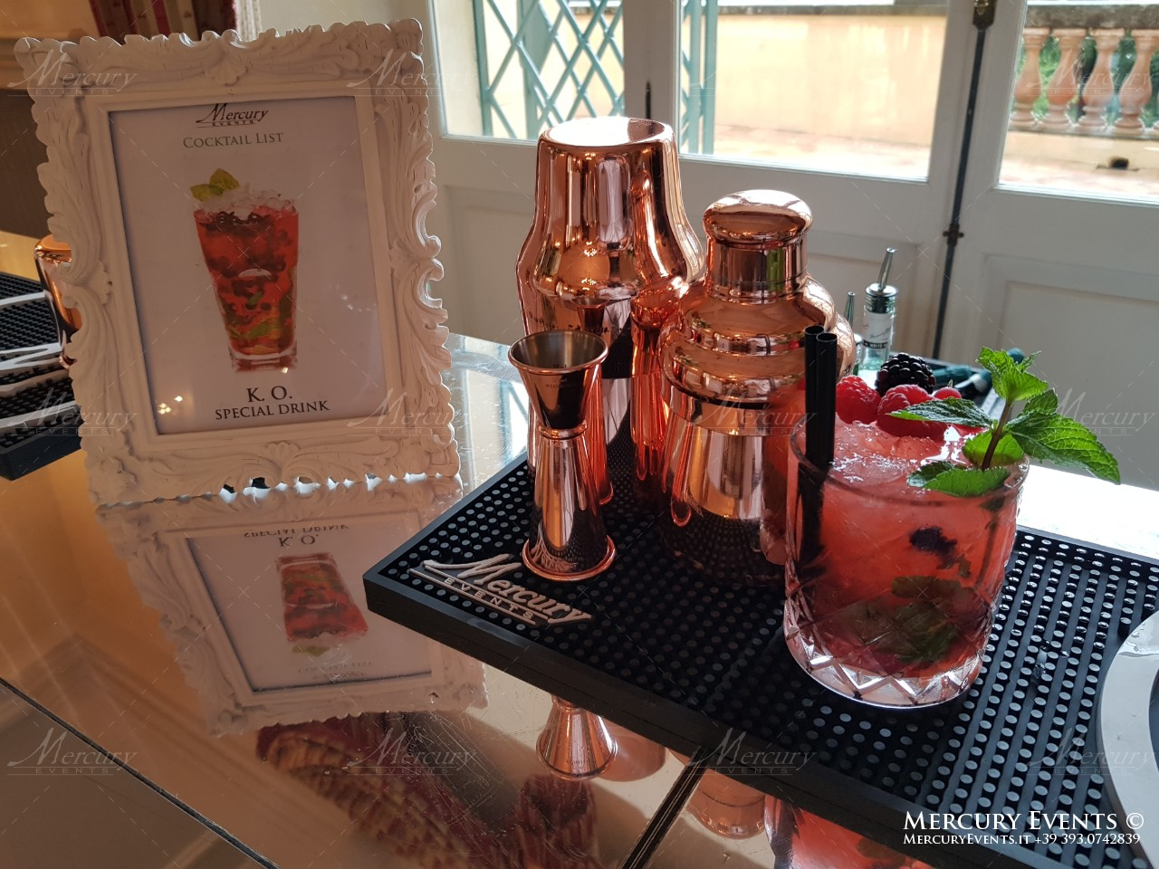 Mercury-Events-drinks PRADA Donna, Evento Open Bar