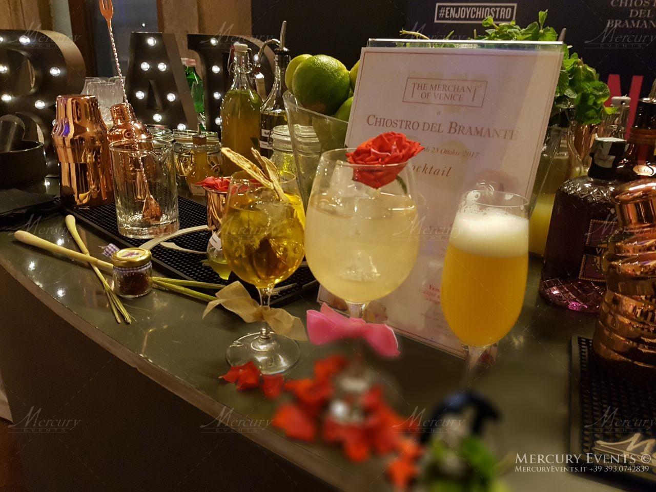 Mixology bar catering