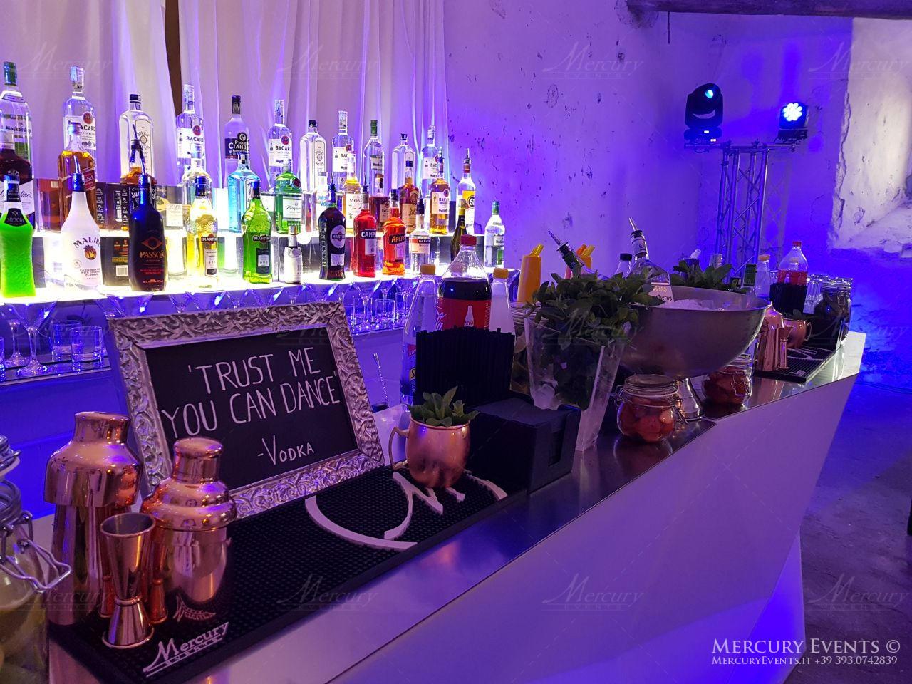 Open bar Wedding - Castello Odelschalchi di Bracciano