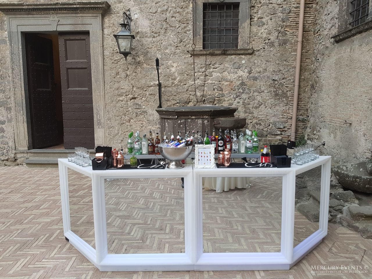 Wedding - Castello Odelschalchi di Bracciano - Mercury Events 12