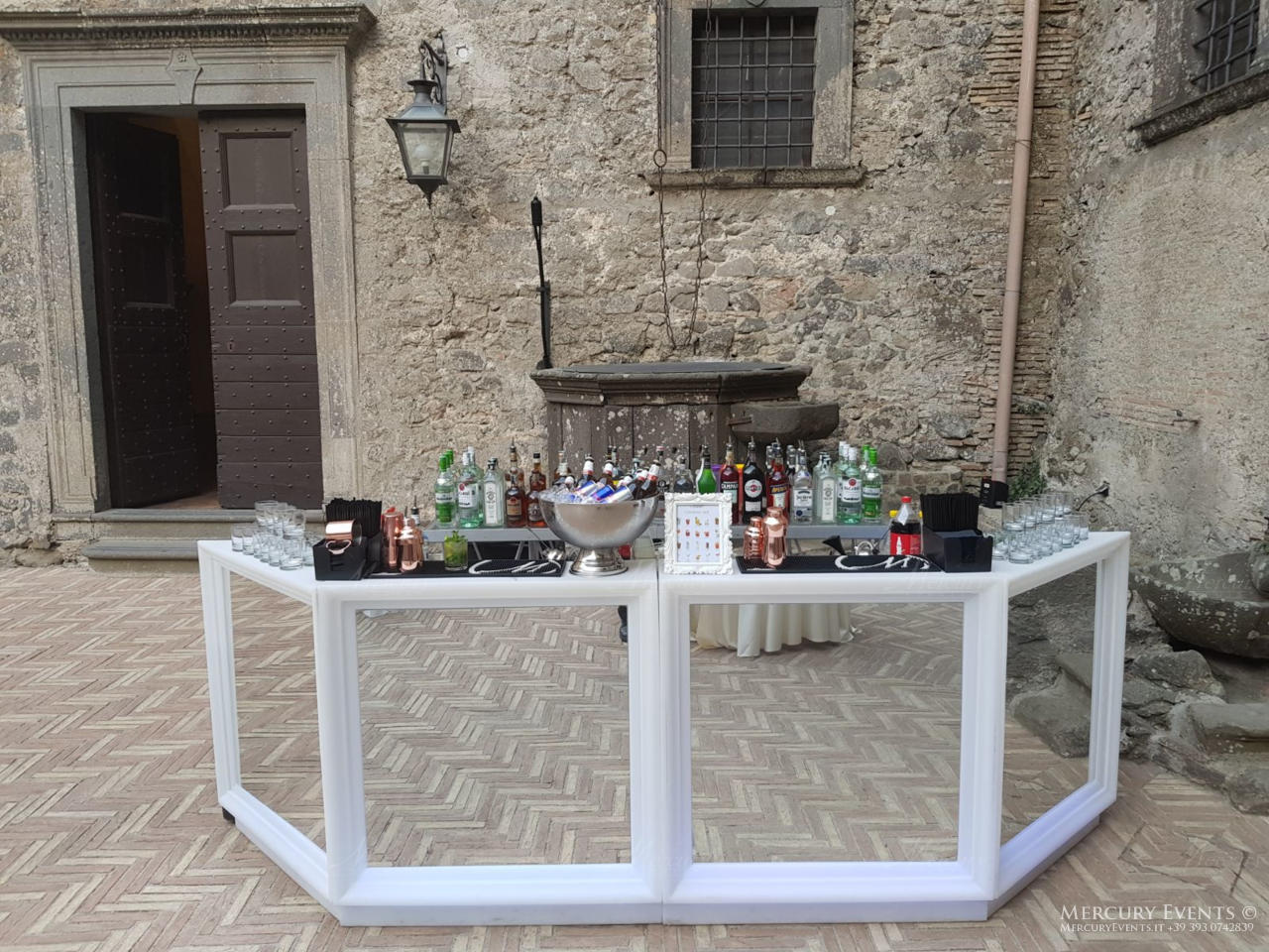Wedding - Castello Odelschalchi di Bracciano - Mercury Events 13