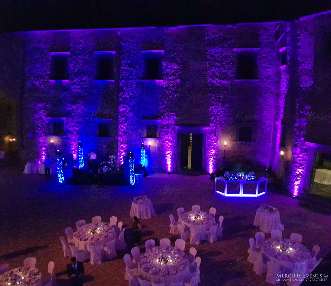 Wedding - Castello Odelschalchi di Bracciano - Mercury Events 2