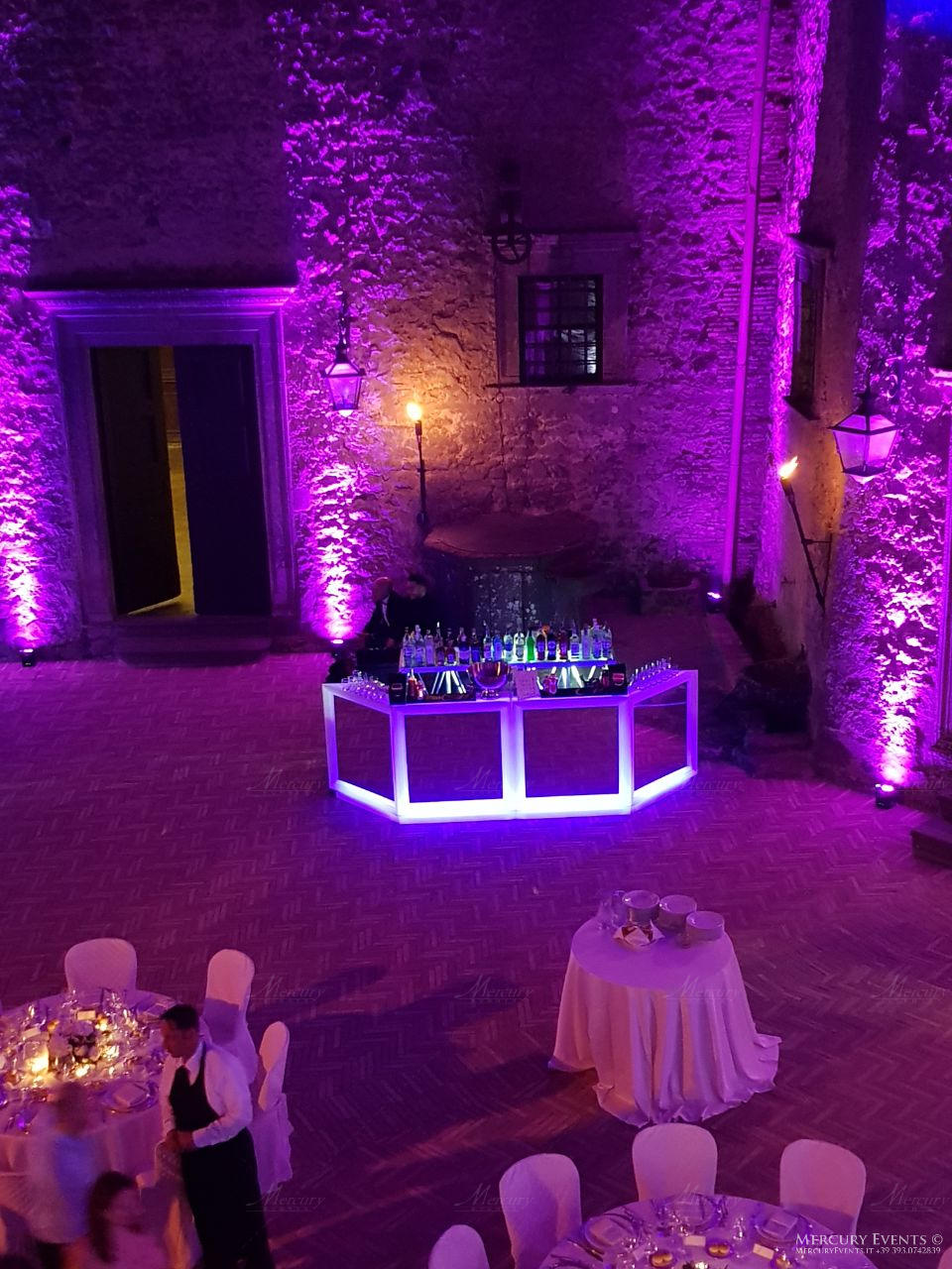 Wedding - Castello Odelschalchi di Bracciano - Mercury Events 7