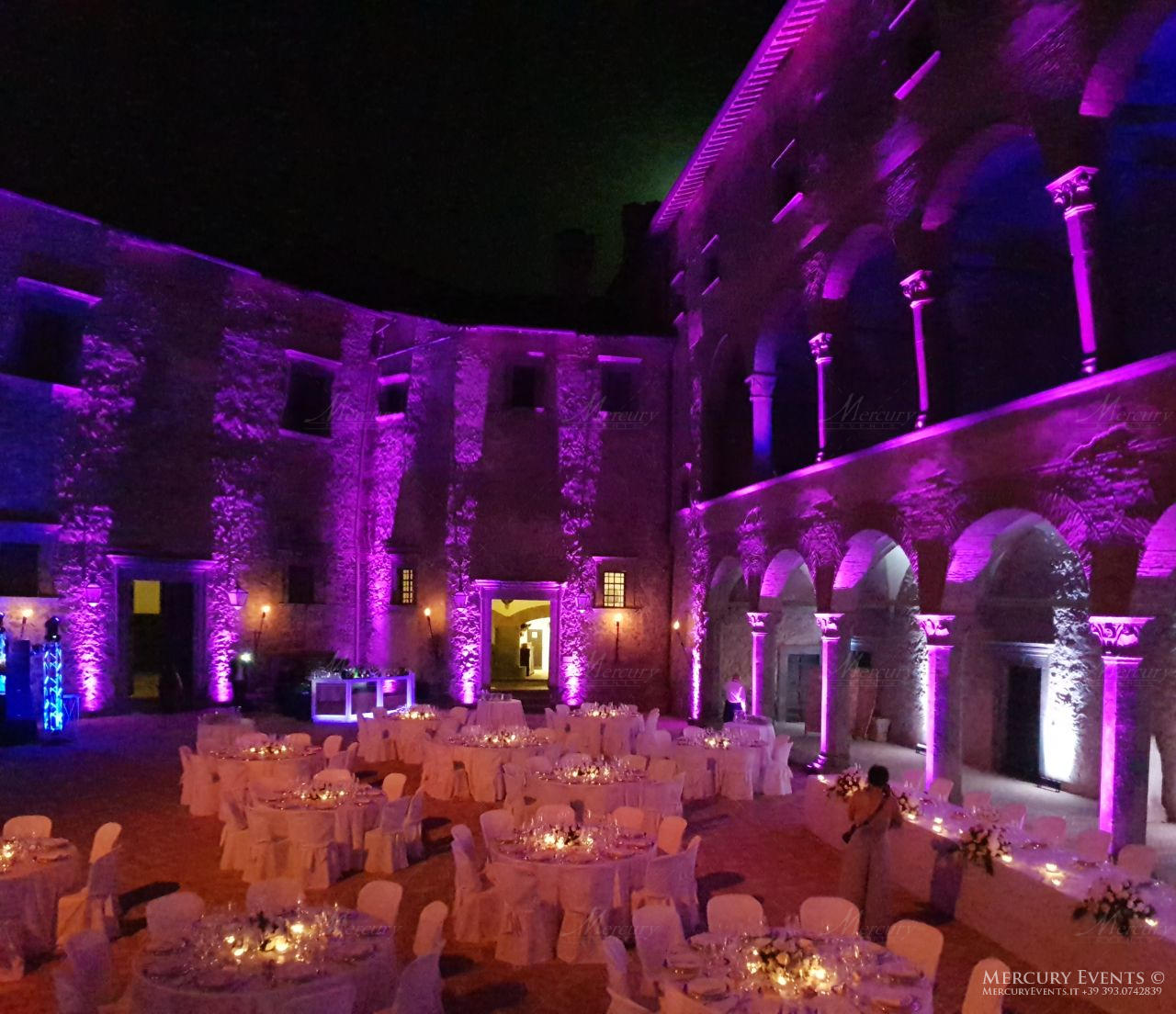Wedding - Castello Odelschalchi di Bracciano - Mercury Events 9