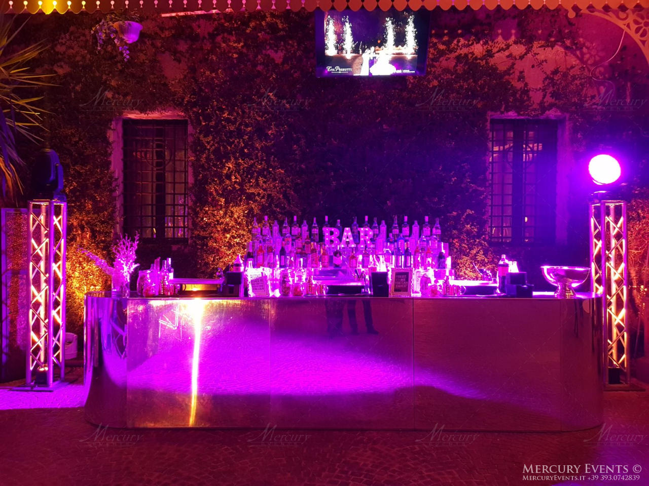 Bar Catering Wedding Castello di Tor Crescenza - Roma