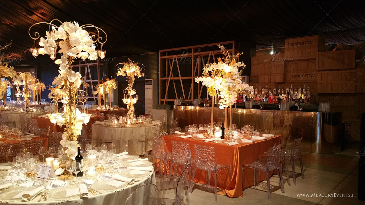 Kosher Wedding - Set Antica Roma - Mercury Events