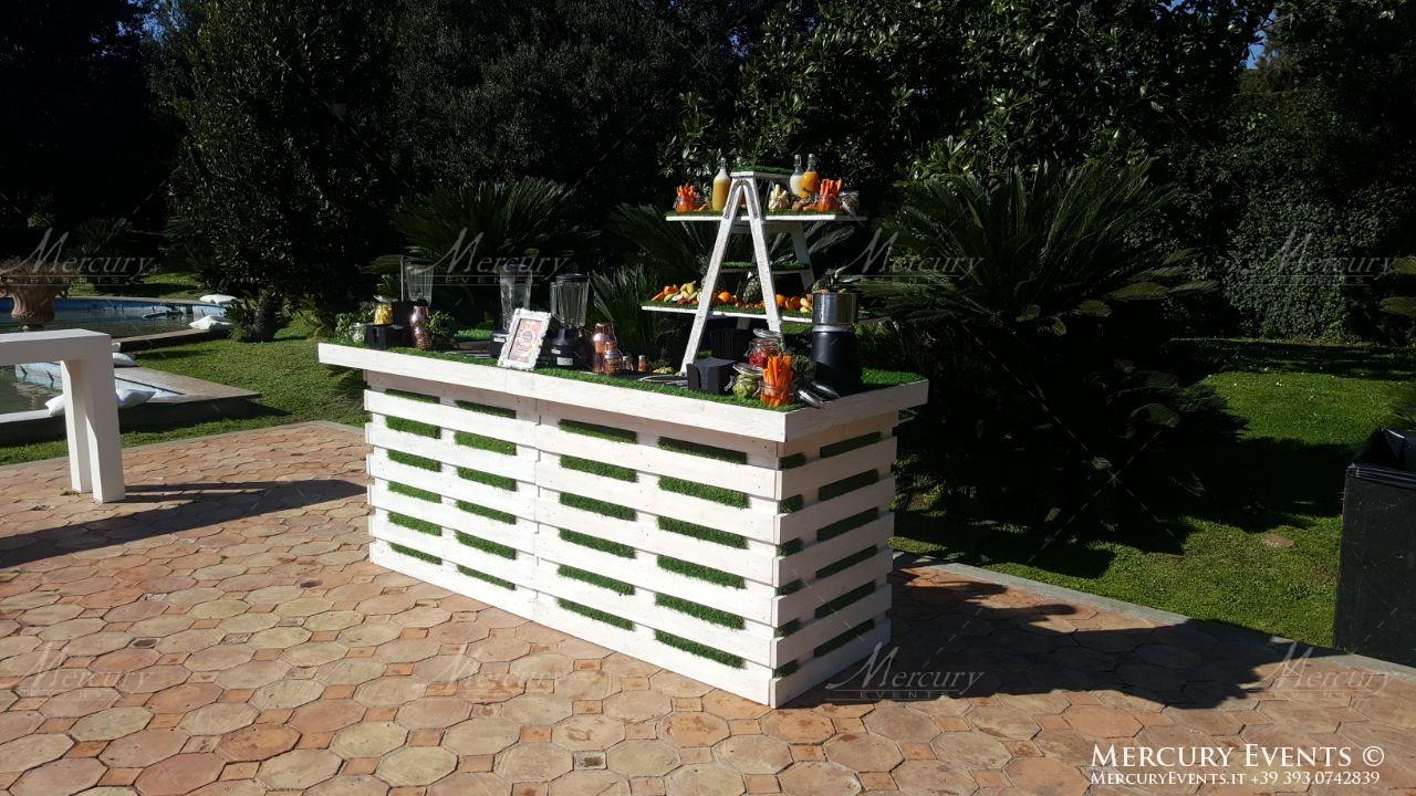 bar catering villa dino roma firenze milano bancone legno shabby mercury events 07