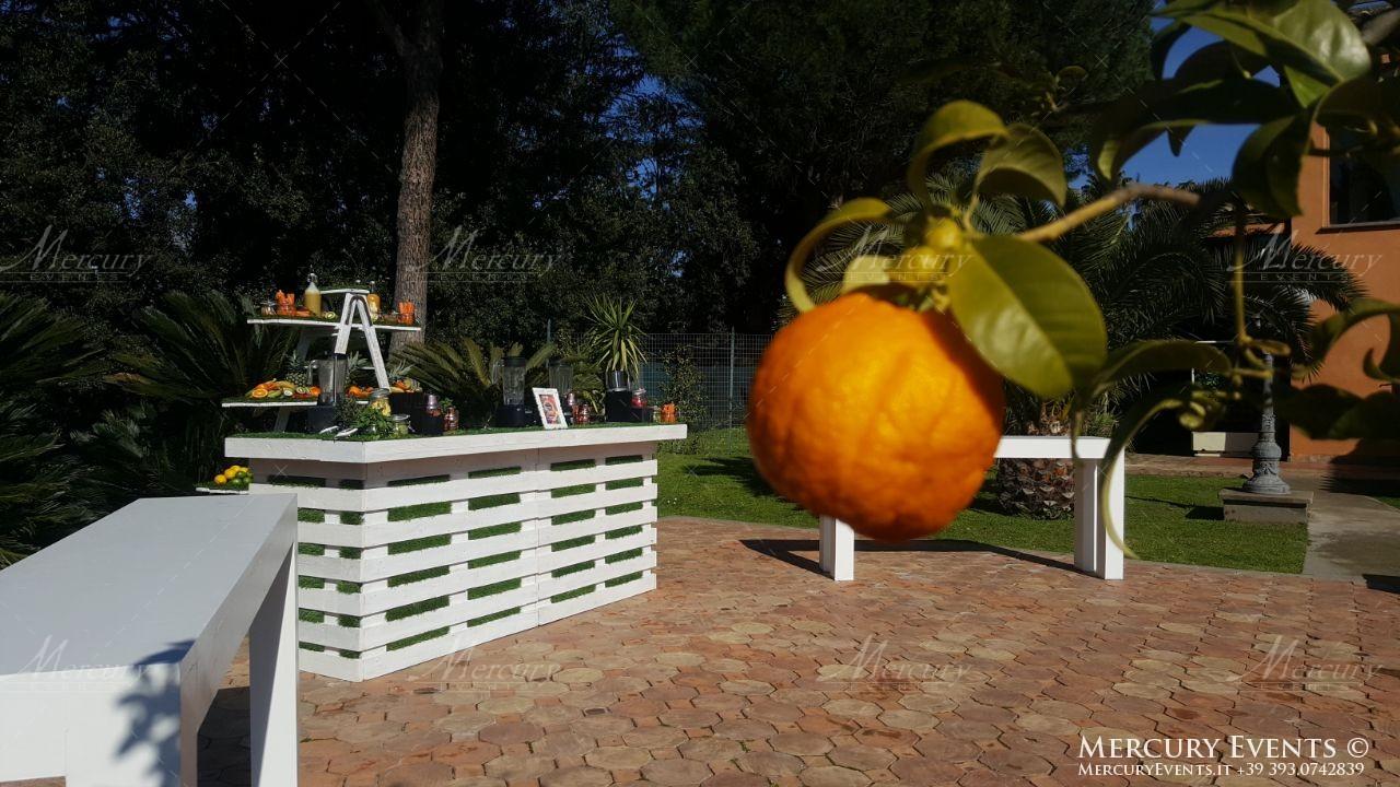 bar catering villa dino roma firenze milano bancone legno shabby mercury events 09