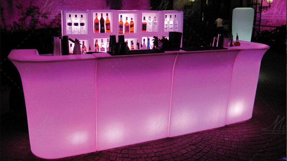 banconi bar luminosi jumbo bar mercury events
