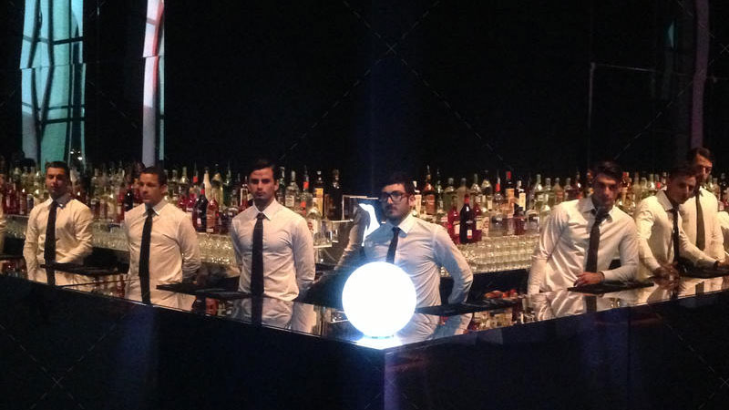 bartender mercury events bar counter