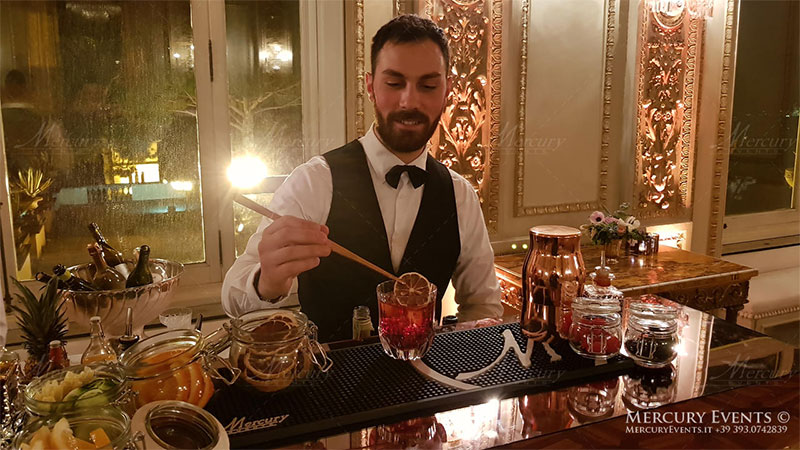bartender mixology roma milano-firenze mercury events bar catering