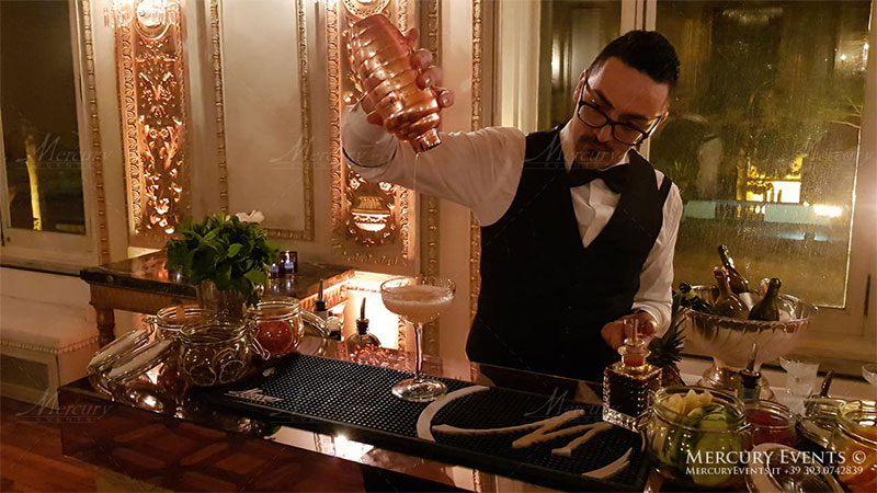 bartender mixology roma milano firenze mercury events