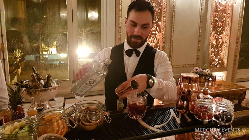 bartender mixology roma milano firenze open bar catering