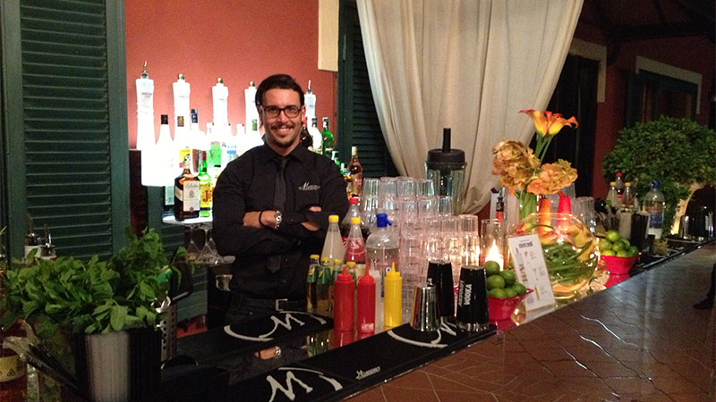 bartender roma mercury events