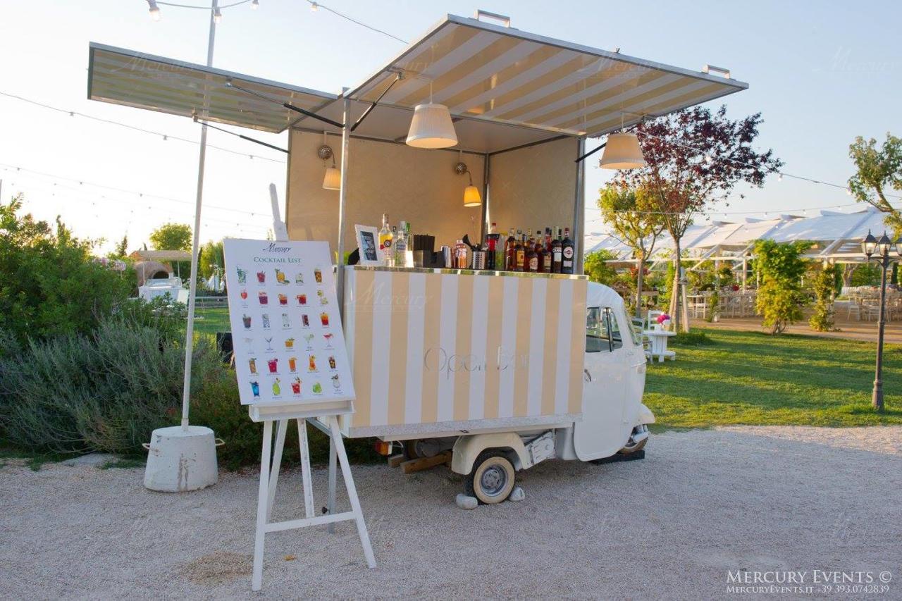 cascina spiga doro open bar catering mercury events