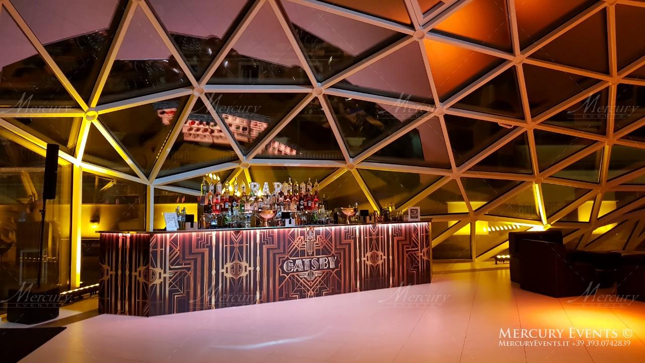 grande gatsby bar design stile anni venti