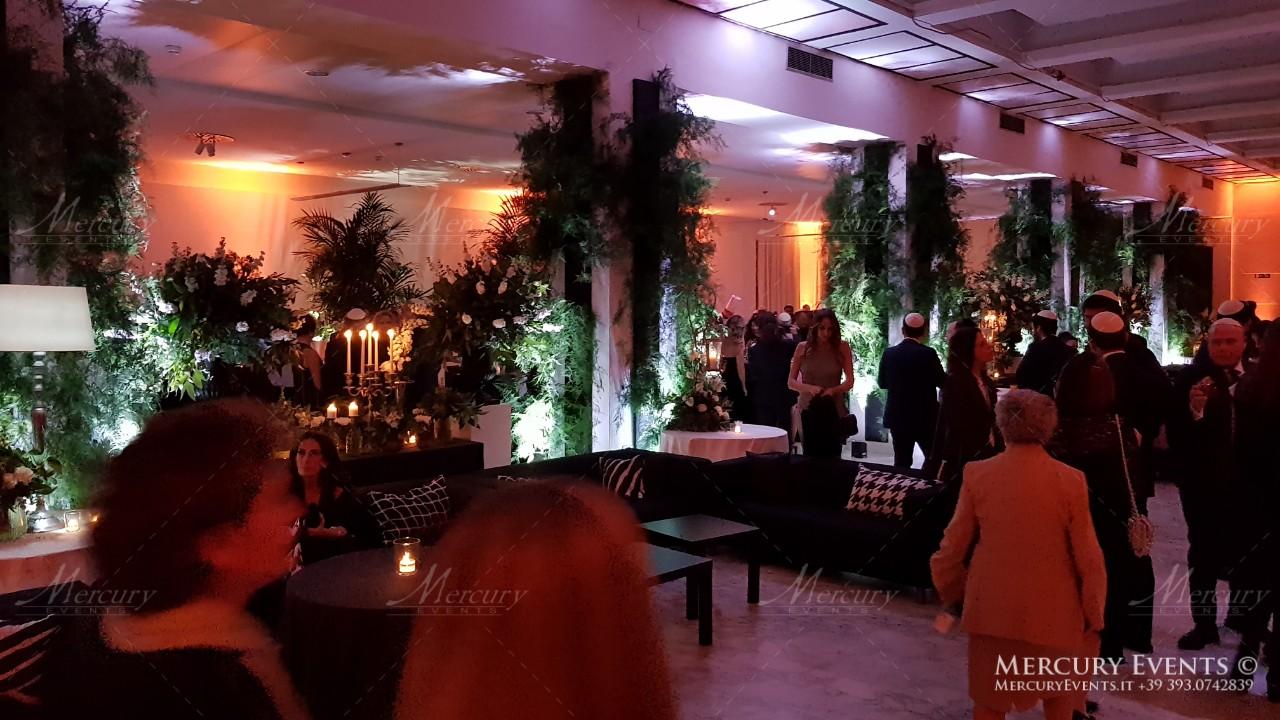 Kosher Wedding - Salone delle Fontane - Roma: Mercury Events
