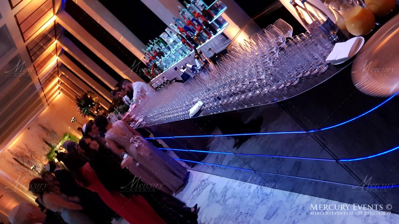Kosher Wedding - Salone delle Fontane - By Mercury Events