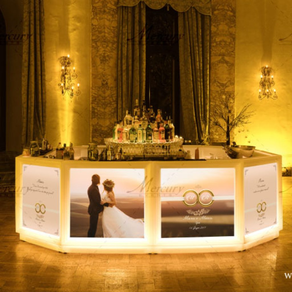 Matrimonio Tema Tiffany : Matrimonio stile tiffany bar bancone circolare