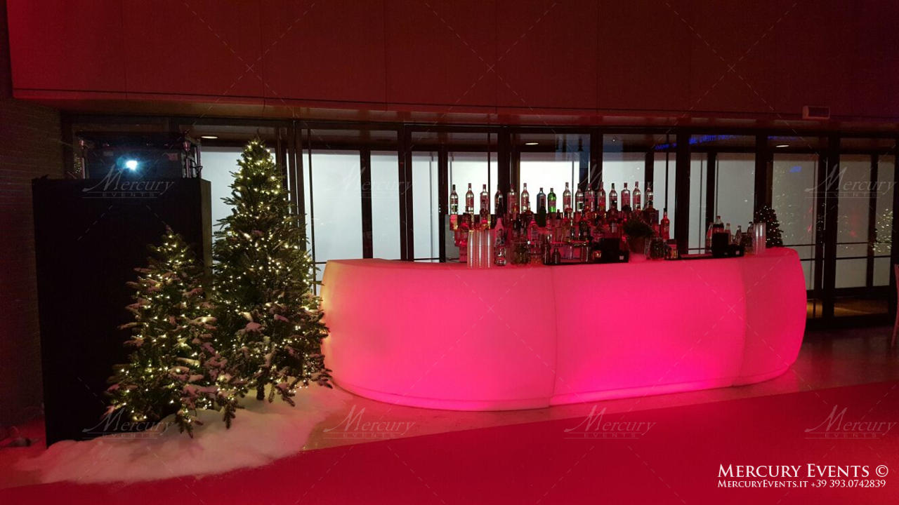 open bar catering auditorium parco della musica roma bar counter bartender wedding matrimonio mercury