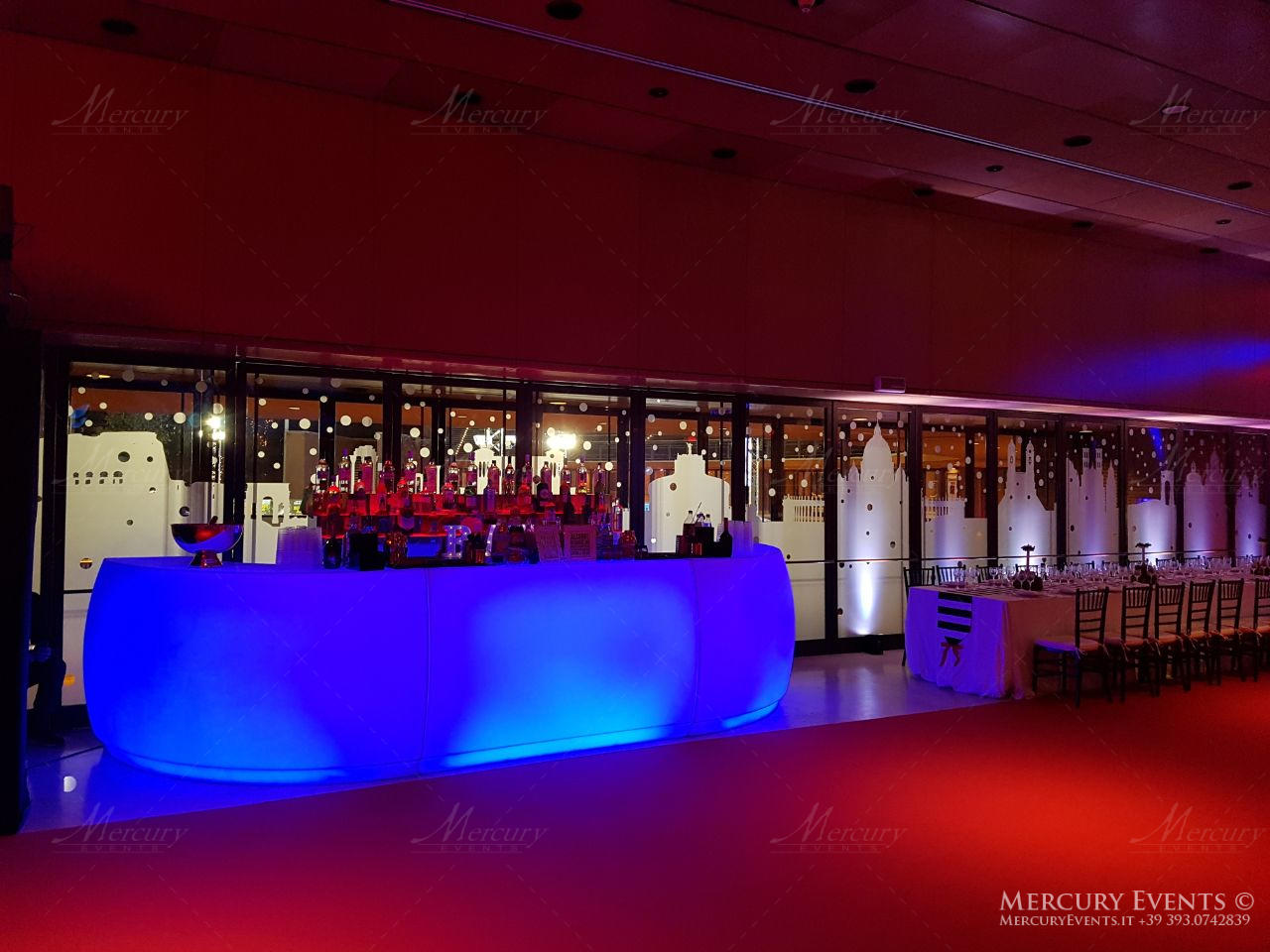 open bar catering auditorium parco della musica roma firenze matrimonio wedding mercury events