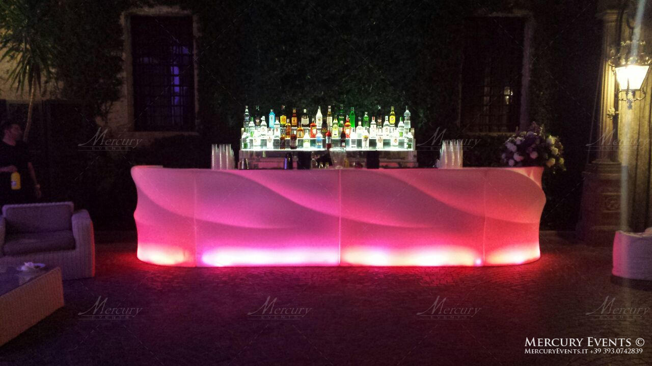 Wedding Tor Crescenza bar design Mercury