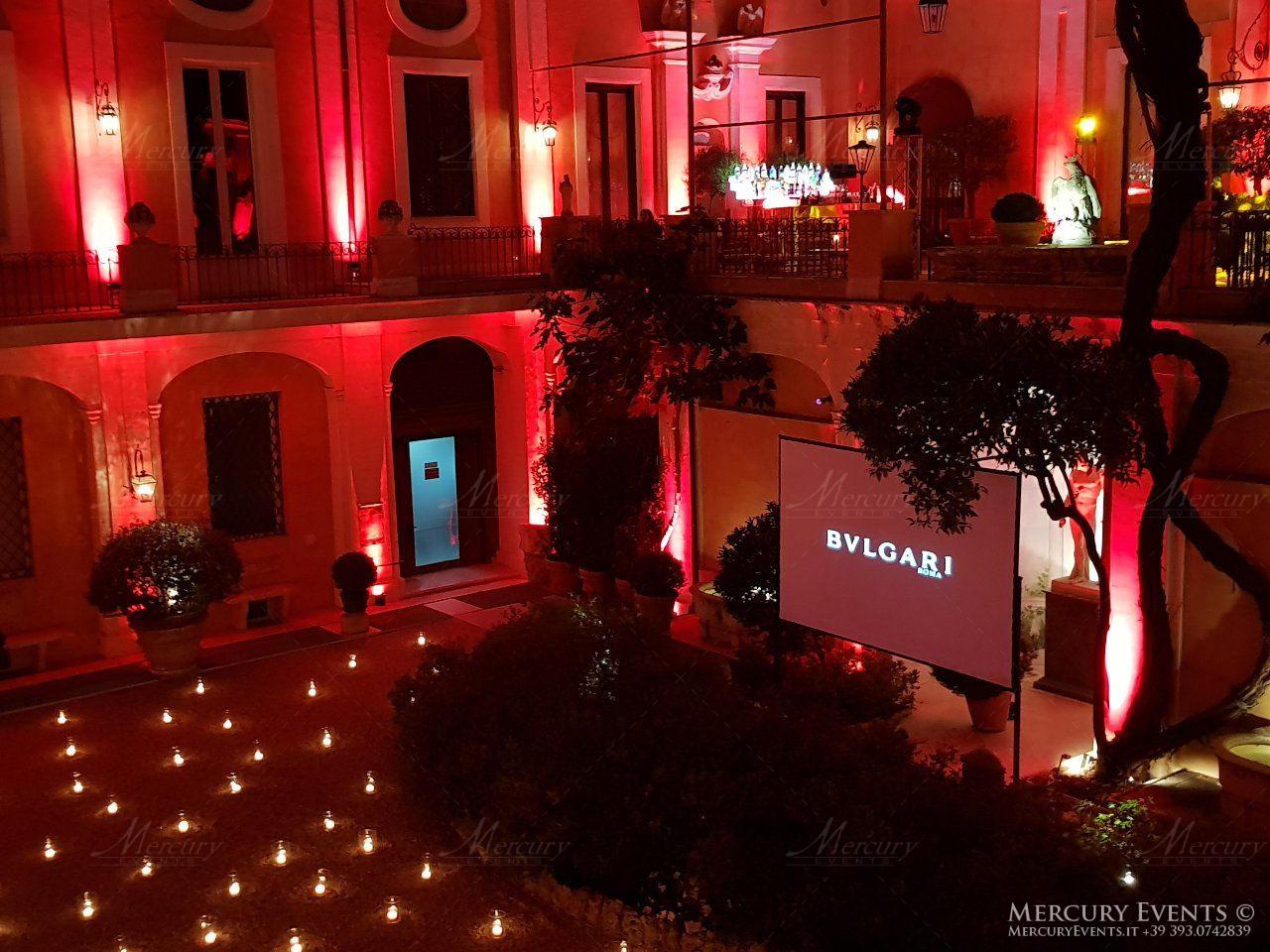 Bulgari Palazzo Torlonia Roma Mercury Events