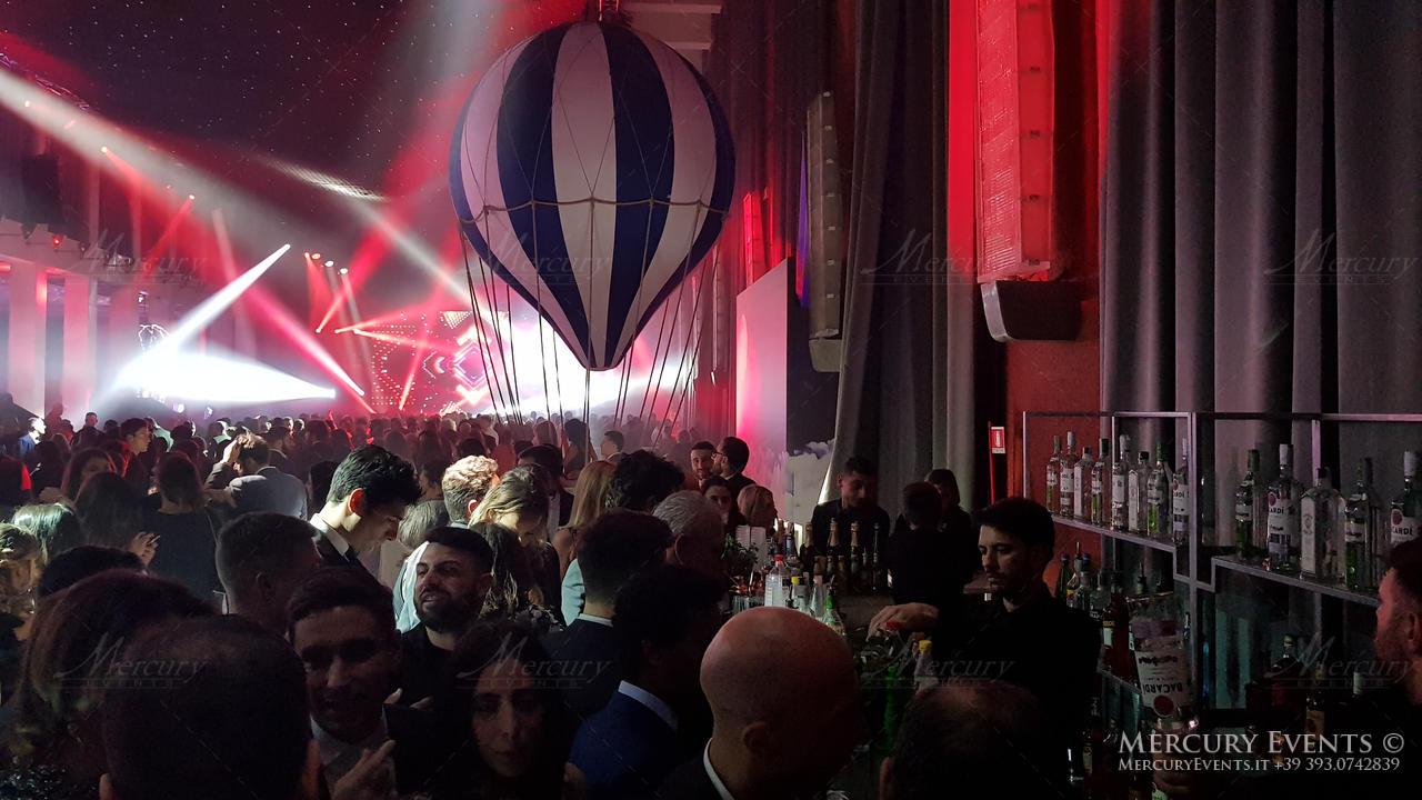 Mercury Events: Fendi Party - Salone delle Fontane - Open Bar Catering Roma