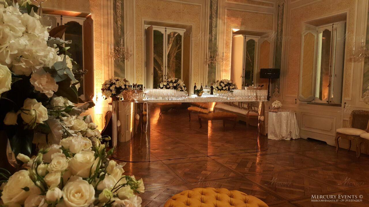Bar Cocktail - Luxury Wedding - Villa Aurelia - Roma