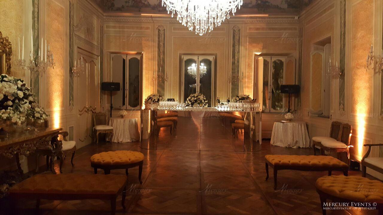 Bar Catering Evento - Luxury Wedding - Villa Aurelia - Roma